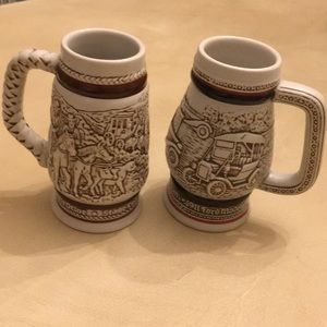 Avon handcrafted in Brazil mini mugs.